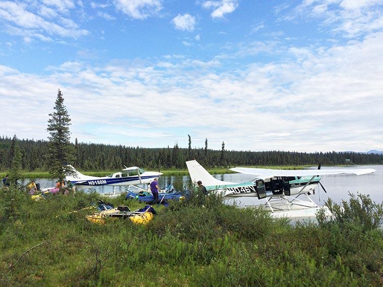 alaska fly in fishing trips